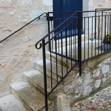 Rampe métallique, escalier - Tarn et Garonne - Be-Metal