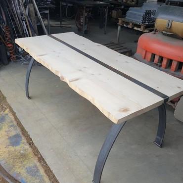 Mobilier industriel, table bois - Tarn et Garonne - Be-Metal